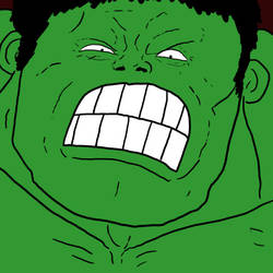 Angry Yet Completely Unthreatening Hulk by Agent-Jin