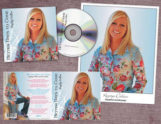 Better Days to Come CD Sleeve by RaceyGraphics