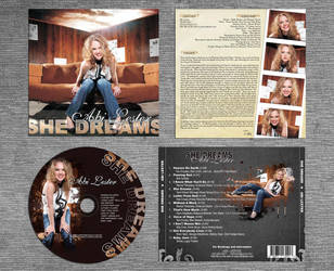 She Dreams CD 2 Panel by RaceyGraphics