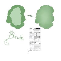 #03 Paint Tool Sai Brush - Blend Brush by CatBrushes