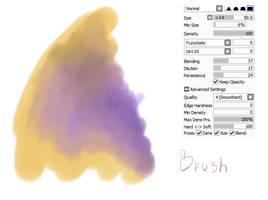 #07 Paint Tool Sai Brush by CatBrushes
