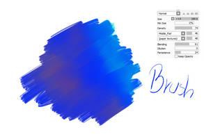 #12 Paint Tool Sai Brush - Acrylic Brush by CatBrushes