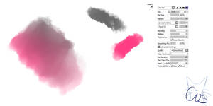 #16 Paint Tool Sai Brush - Watercolor Brush by CatBrushes