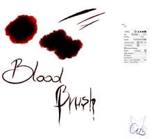 #21 Paint Tool Sai Brush - Blood Brush by CatBrushes