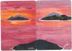 Islands Full Art by LucasCoppio