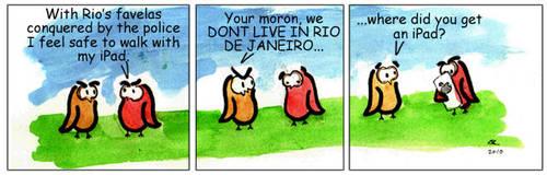 The Owls - Rio Conquered by LucasCoppio