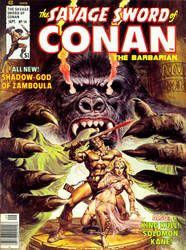 The Savage Sword of Conan the Barbarian #14 by derrickthebarbaric
