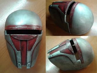 Darth Revan's mask - work completed by haylents