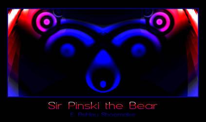 Sir Pinski the Bear by Phoenixel-AB