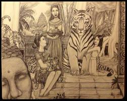 Banteay Srei by AlidaMorris