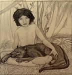 Mowgli ?! by AlidaMorris