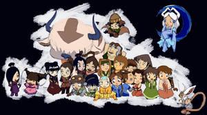 Avatar children 2 by silviabrujas