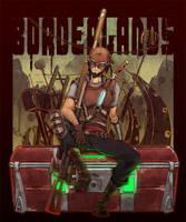 BORDERLANDS:Mordecai 2 by KEISUKEgumby