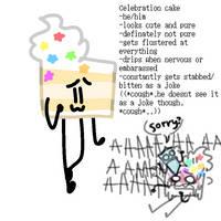 celebration cake by xawx