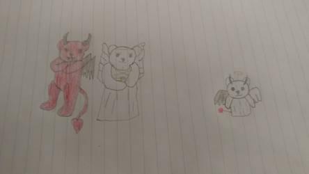The Angel and Demon Bears by Mickmick108