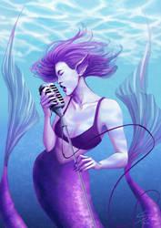 Deep Sea Blues by snowishtiger