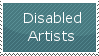 Disabled Artists by Blues-Eyes