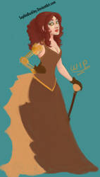 W.I.P Steampunk Noblewoman by SophieBuckley