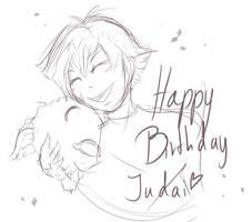 ygo gx: happy birthday judai! by Algolagnie