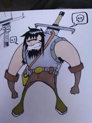 My Sword says go kill stuffs..... by Mandarx-killed-it