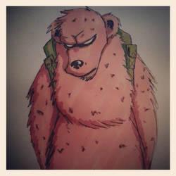 grizzly bub by Mandarx-killed-it