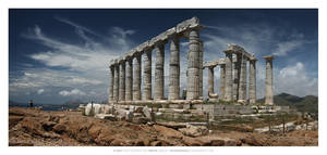 Temple of Poseidon by nonsensible