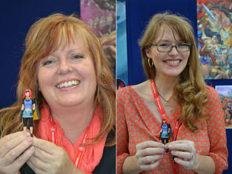 Gail Simone, Nicola Scott and Misfit by mousedroid-hoojib