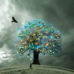 Tree of Enlightenment by sky-2011