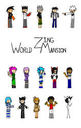 World Zing Mansion - Cover by FireSonosuke