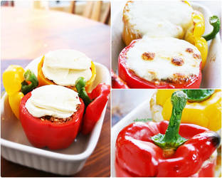 Stuffed bell peppers 002 by camnhungth