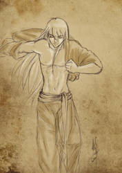 Half naked Shaka by Kei-S