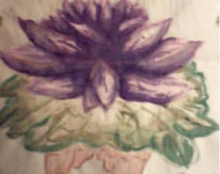 Purple Lotus by LullabyWitness