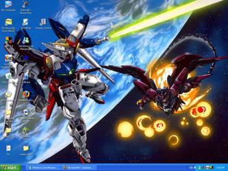 Gundams by LullabyWitness