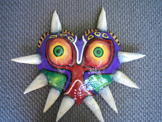 Majora's Mask - front on by Geek-Girl-Fi