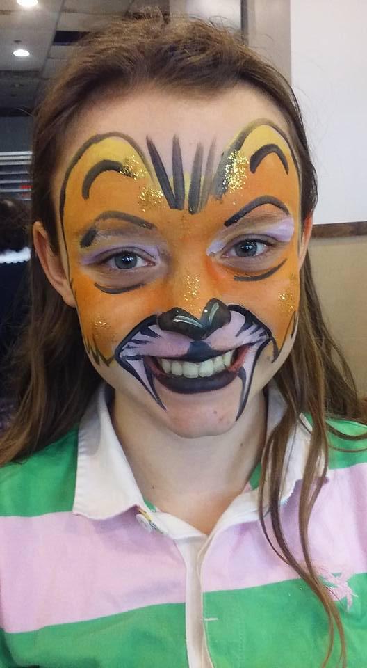 fe9812a92 Lion Face Paint. Simple Lion Face Paint With Lion Face Paint ...