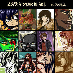 Meme 2013, a year in art by Jun-R-Z