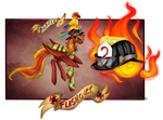 Character Card Flashover by TechTalkPony