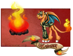 Character Card Charmander by TechTalkPony