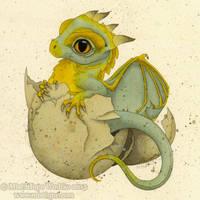 Hatchling by MistiqueStudio