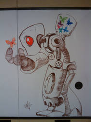 Dry-Erase Robot by Bealy-Boy