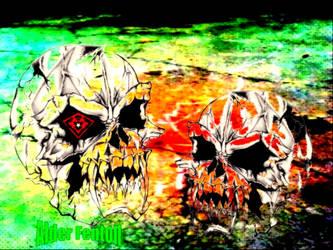 Ragging Skull by AlderFenton