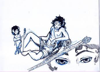 Dionysus by CrimsonFangs