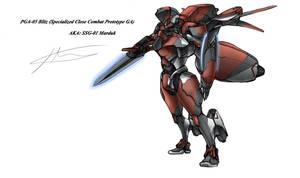 SGA-01 Marduk by hhello