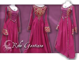 Gentiane's dress by michaeljack