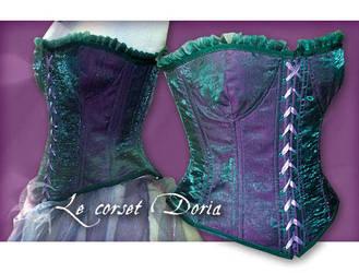 Doria's corset by michaeljack