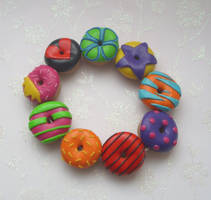 Funkylicious Doughnuts by PORGEcreations