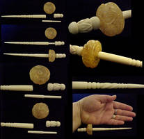 Kat French's Amber Spindle by Yonaka-Yamako