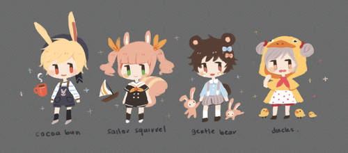 cute lil critter set price adopts [closed] by shrubberyadopts