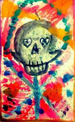 Splatter Skull  by DRAGONHATAKE