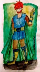 Greenhelm Warrior- Blake  by DRAGONHATAKE
